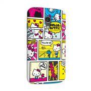Capa para Motorola Moto G 2 Hello Kitty Comic Con HQ
