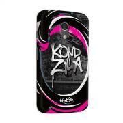 Capa para Motorola Moto G 2 Kondzilla Grafite