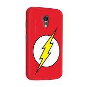 Capa para Motorola Moto G 2 The Flash Logo