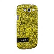 Capa para Samsung Galaxy S3 Fino Farofa de Religião Yellow