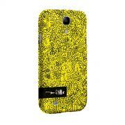 Capa para Samsung Galaxy S4 Fino Farofa de Religião Yellow