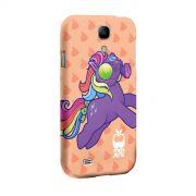 Capa para Samsung Galaxy S4 Monstra Maçã My Little Monster