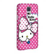 Capa para Samsung Galaxy S5 Hello Kitty Big Ribbon