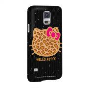 Capa para Samsung Galaxy S5 Hello Kitty Print Fuzzy