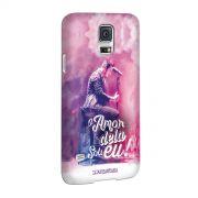 Capa para Samsung Galaxy S5 Luan Santana O Amor Dela Sou Eu