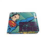 Carteira Superman Kryptonite Nevermore