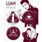 Cartela de Buttons Luan Santana Acústico
