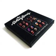 Conjunto com 4 Descansos Para Copos 89 FM A Rádio Rock Rolling Stones