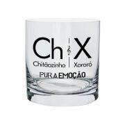 Copo Para Whisky Chitãozinho & Xororó Pura Emoção