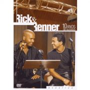 DVD Rick & Renner 10 Anos De Sucesso