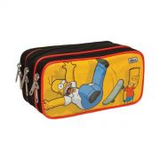 Estojo Triplo The Simpsons Homer Skate