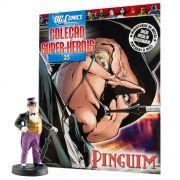 Miniatura Boneco Pinguim + Revista