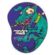 Mousepad Monstra Maçã Crazy Dog