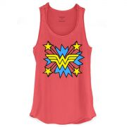 Regata Wonder Woman Logo Star