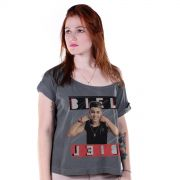 T-shirt Premium Feminina Biel Foto