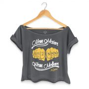 T-shirt Premium Feminina MC Guim� Nem Maior Nem Melhor