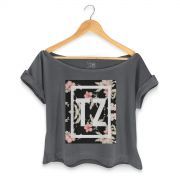 T-shirt Premium Feminina MC Tati Zaqui Flowers