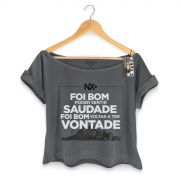 T-shirt Premium Feminina NXZero Voltar a ter Vontade