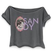 T-shirt Premium Feminina Sandy Moldura