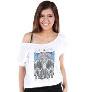 T-shirt Premium Feminina Sofia Oliveira Elephant