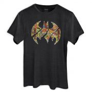 T-shirt Premium Masculina Batman Logo Collage