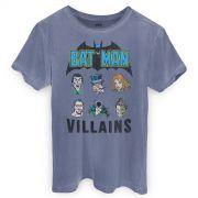 T-shirt Premium Masculina Batman Villains