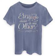 T-shirt Premium Masculina Sandy Ref�gio