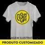 Camiseta B�sica Unissex CustomUP Vermelha