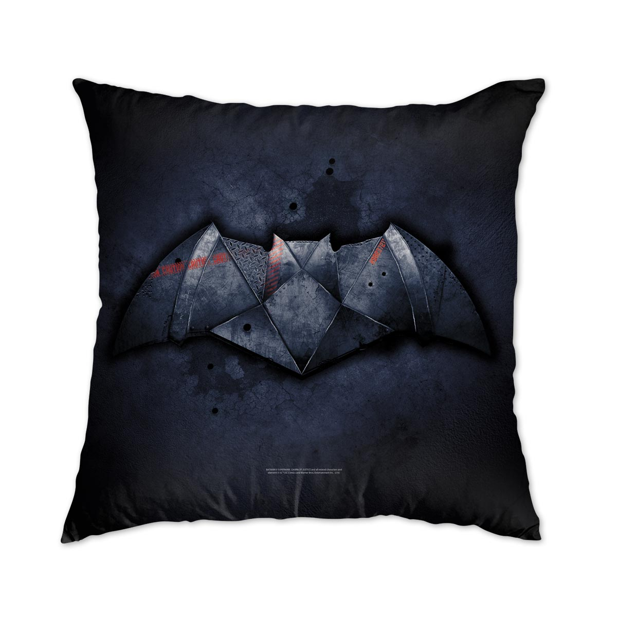 Almofada Batman VS Superman Logo Steel