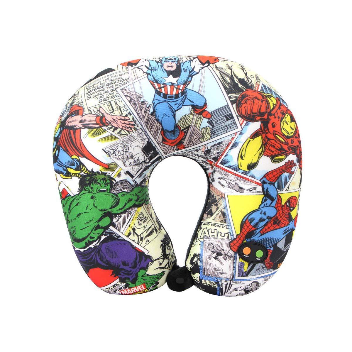 Almofada de Pescoço MARVEL Trip Vibration HQ Heróis