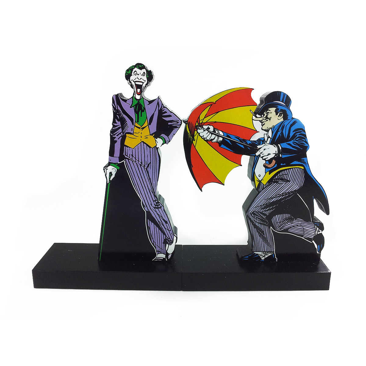Aparador de Livros The Joker e Penguin