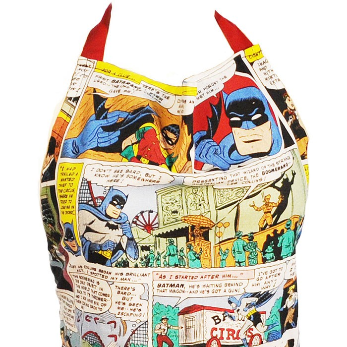 Avental Batman Quadrinhos