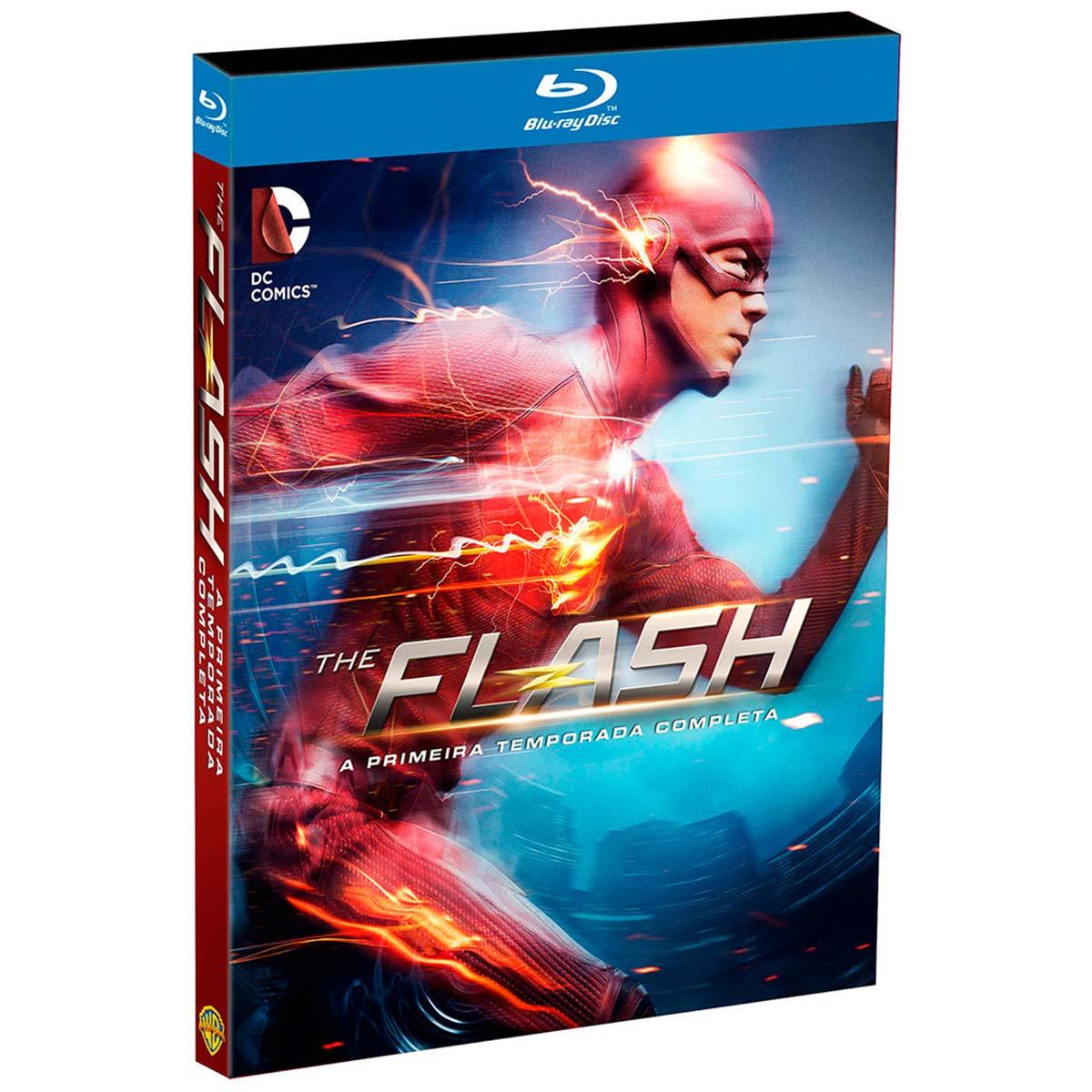 Blu-Ray BOX The Flash A Primeira Temporada Completa
