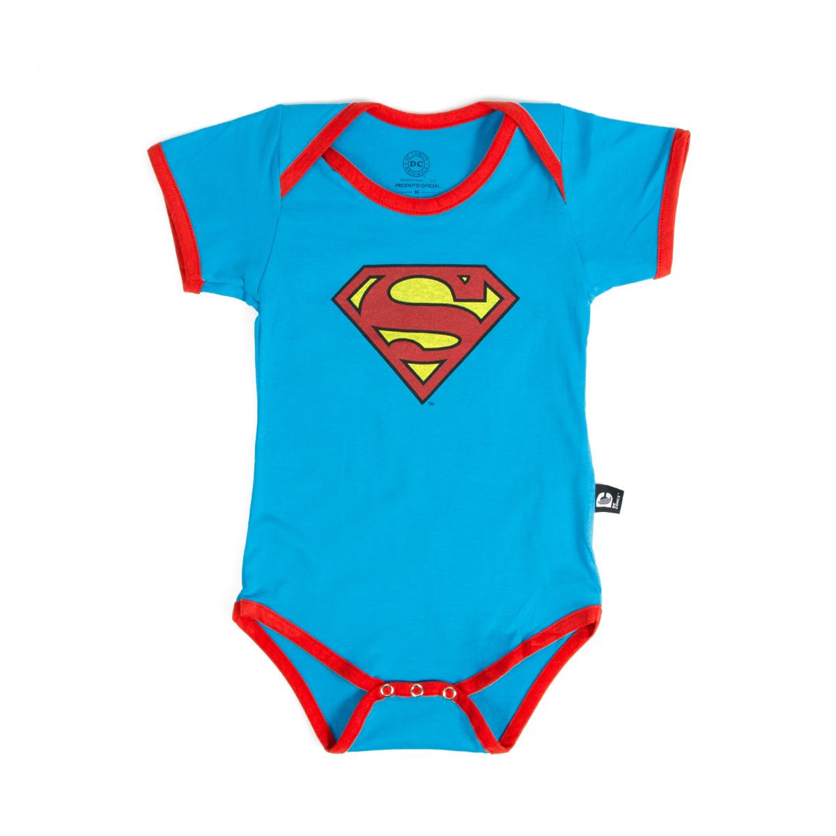 Body Superman Logo Clássico