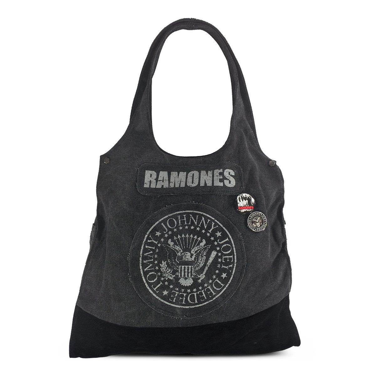 Bolsa Ramones Don´t Wanna Grow Up 749055