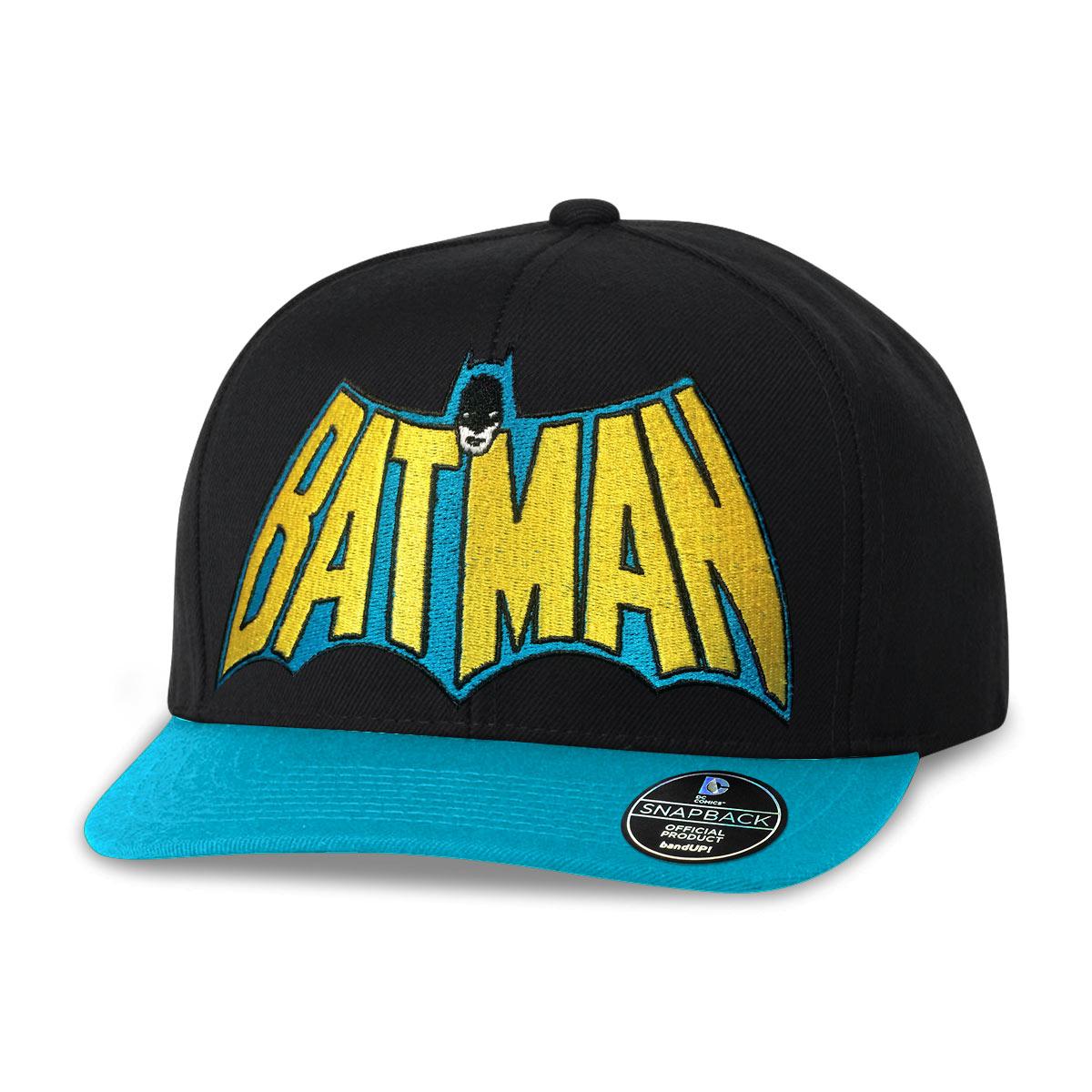 Boné Aba Reta Batman Logo 60's