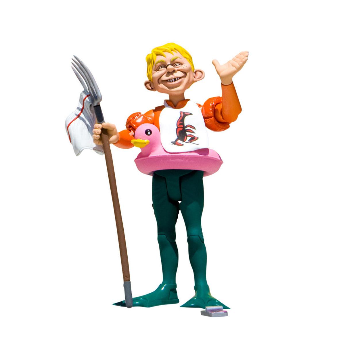 Boneco (Action Figure) MAD Just-Us League Aquaman