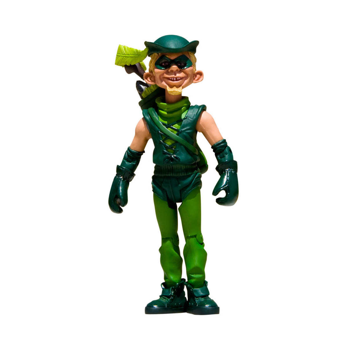 Boneco (Action Figure) MAD Just-Us League Arqueiro Verde