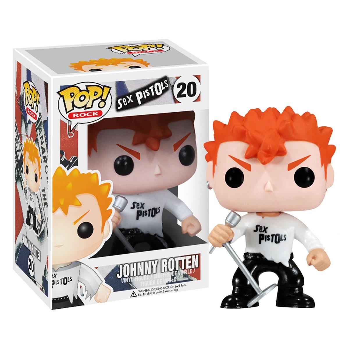 Boneco Funko Pop Rocks Sex Pistols Johnny Rotten