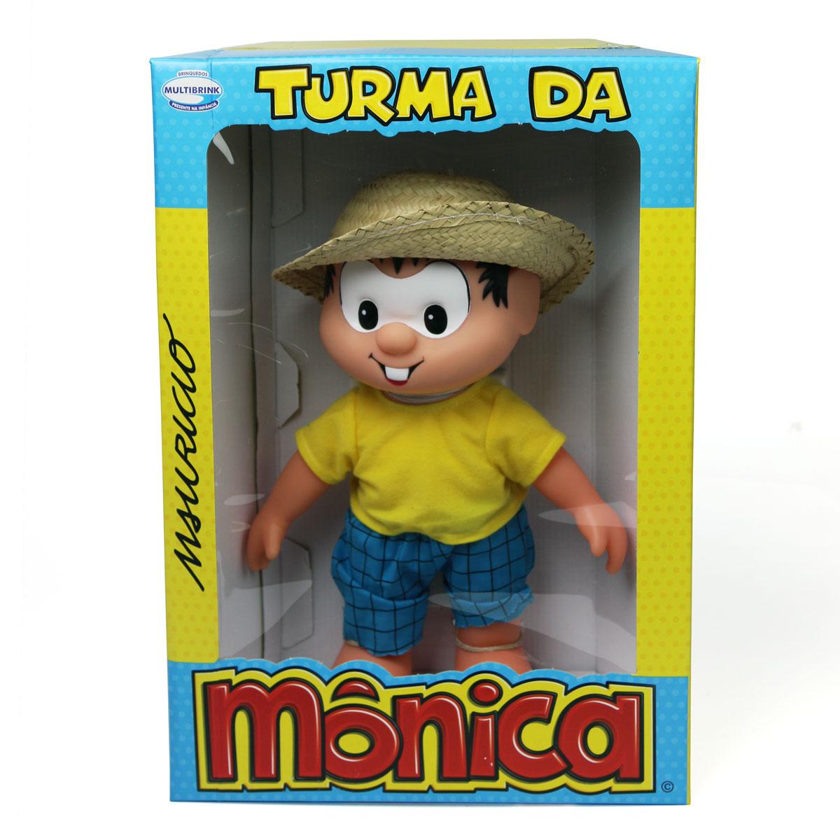 Boneco Turma da M�nica New Cl�ssicos Chico Bento