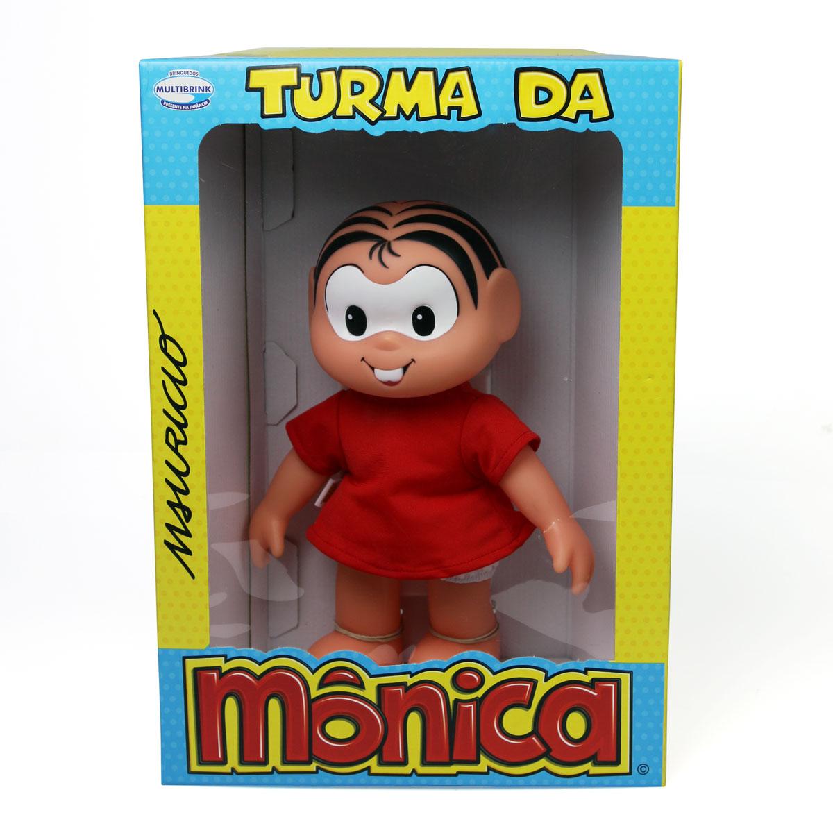 Boneco Turma da M�nica New Cl�ssicos M�nica