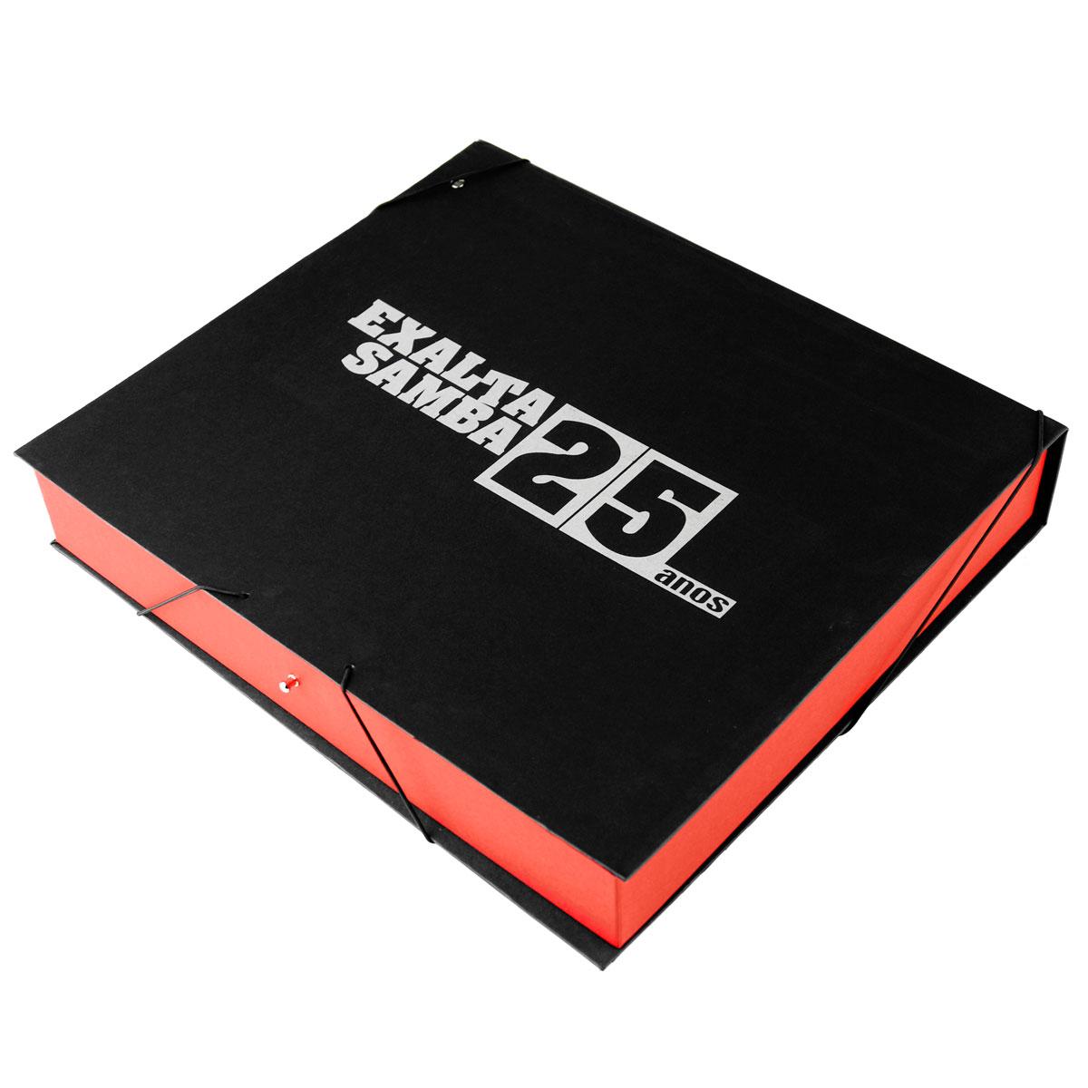 Box Luxo Exaltasamba 25 Anos