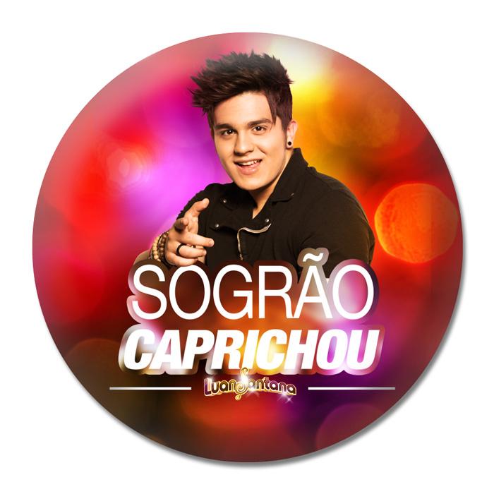 Button Luan Santana Sogr�o Caprichou