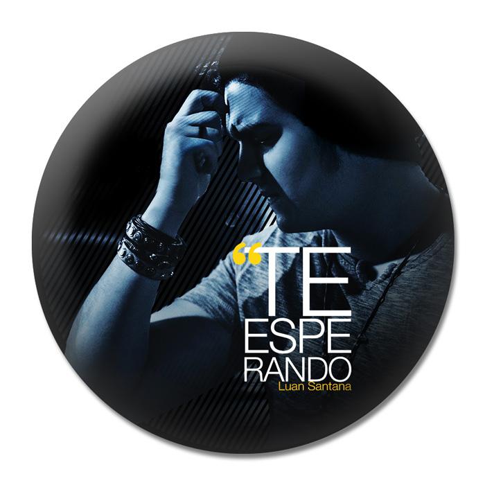 Button Luan Santana Te Esperando