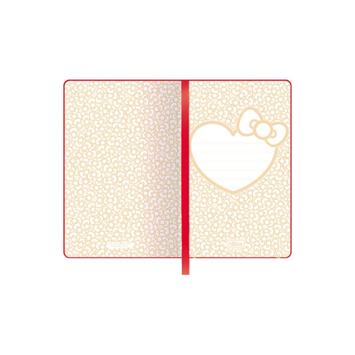 Caderneta de Anotações Hello Kitty Logo