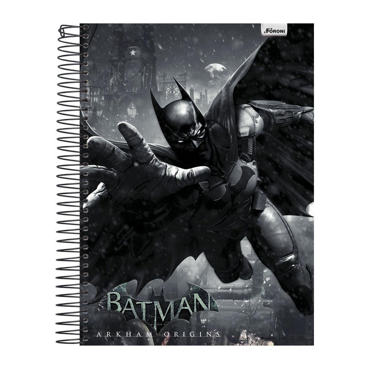 Caderno 1 Mat�ria Batman Blackgate