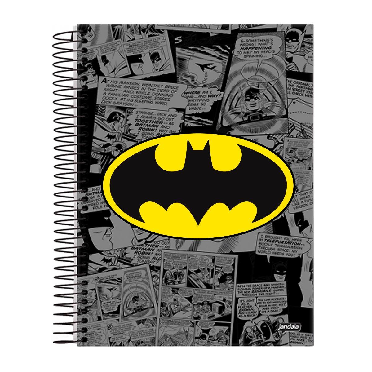 Caderno 1 Mat�ria Batman Logo