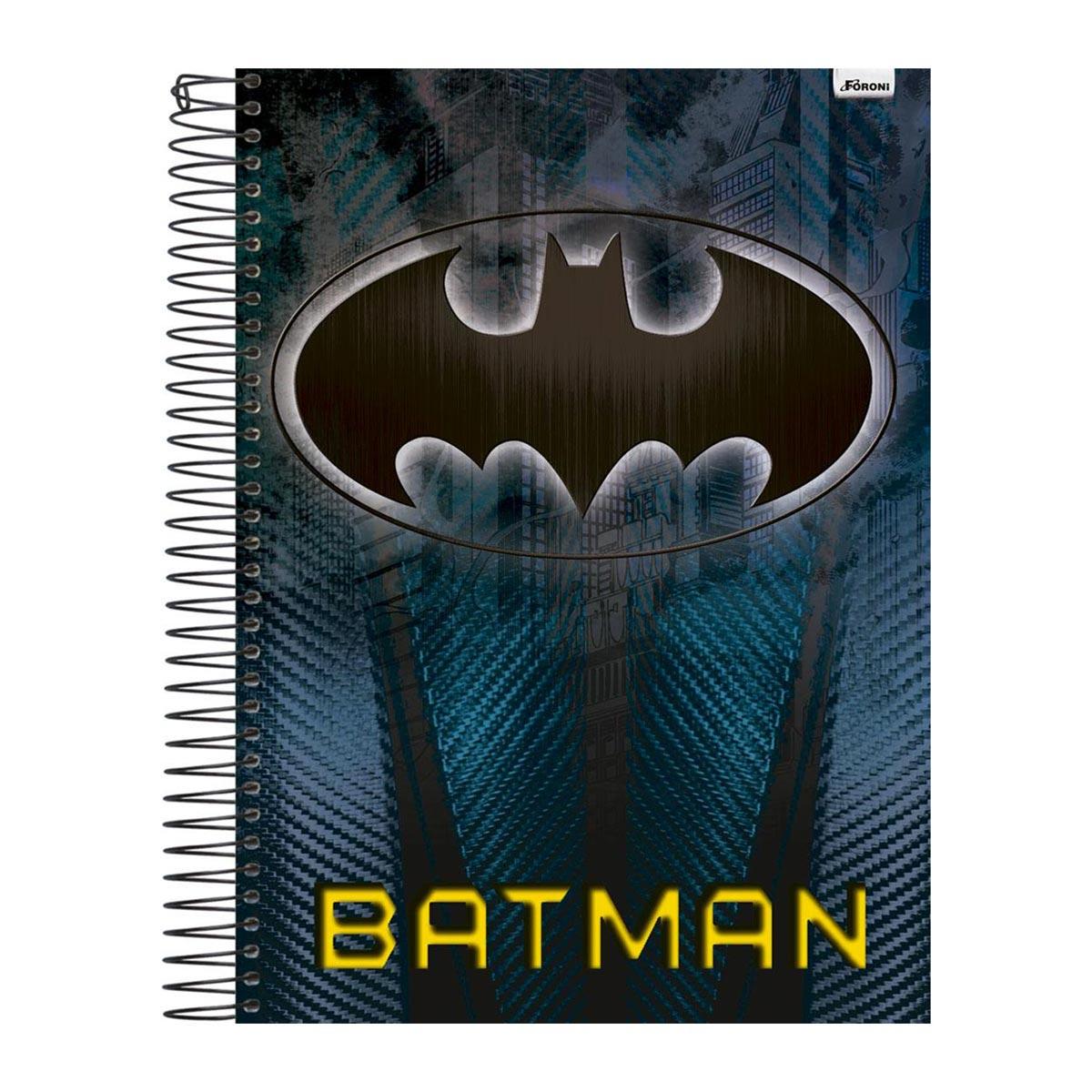 Caderno 1 Mat�ria Batman S�mbolo
