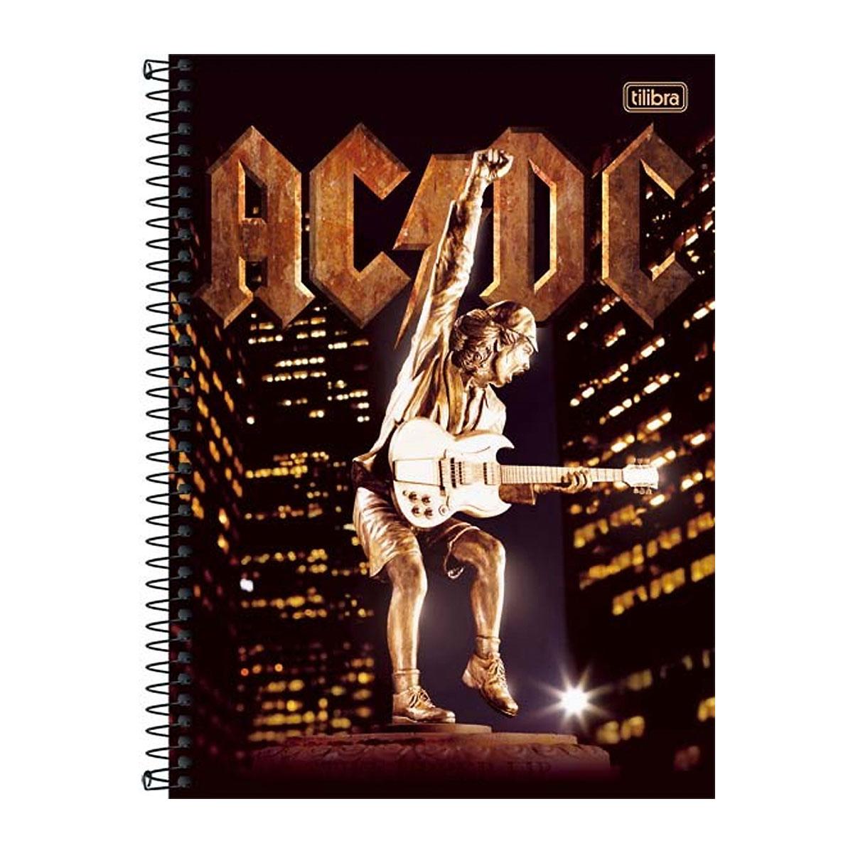 Caderno AC/DC Angus Young Upper 1 Mat�ria