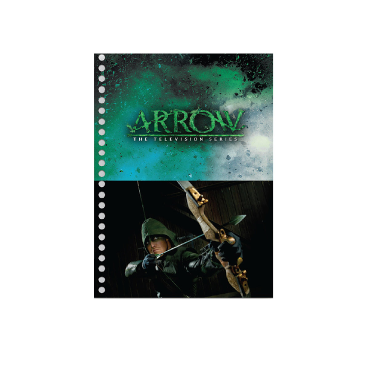 Caderno Arrow Archer Green 1 Matéria